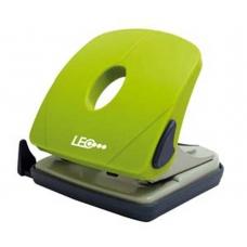 Дырокол 25л пласт. L1424-08 зеленый