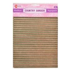 Бумага для декупажа, Country garden, 2 листа 40*60 см
