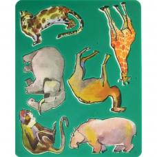 """Трафарет """"Животные Африки"""" 9С486-08"""