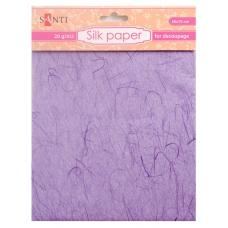 Шелковая бумага, фиолетовая, 50*70 см