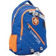 """Рюкзак подростковый CA058 """"Cambridge"""", голубой, 29*13.5*46см"""