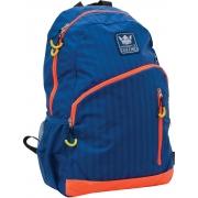 """Рюкзак подростковый Х229 """"Oxford"""", сине-оранжевый, 30.5*16.5*47см"""