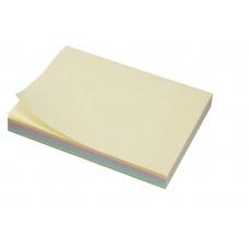 Бумага с липким слоем 75*100мм 4-цветн. 100л L1209