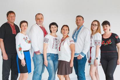 Сотрудники ТОПа поздравляют всех с национальным праздником - Днем Вышиванки!