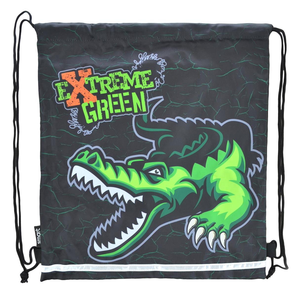 Сумка для обуви SB-01 Extreme green, 40*35
