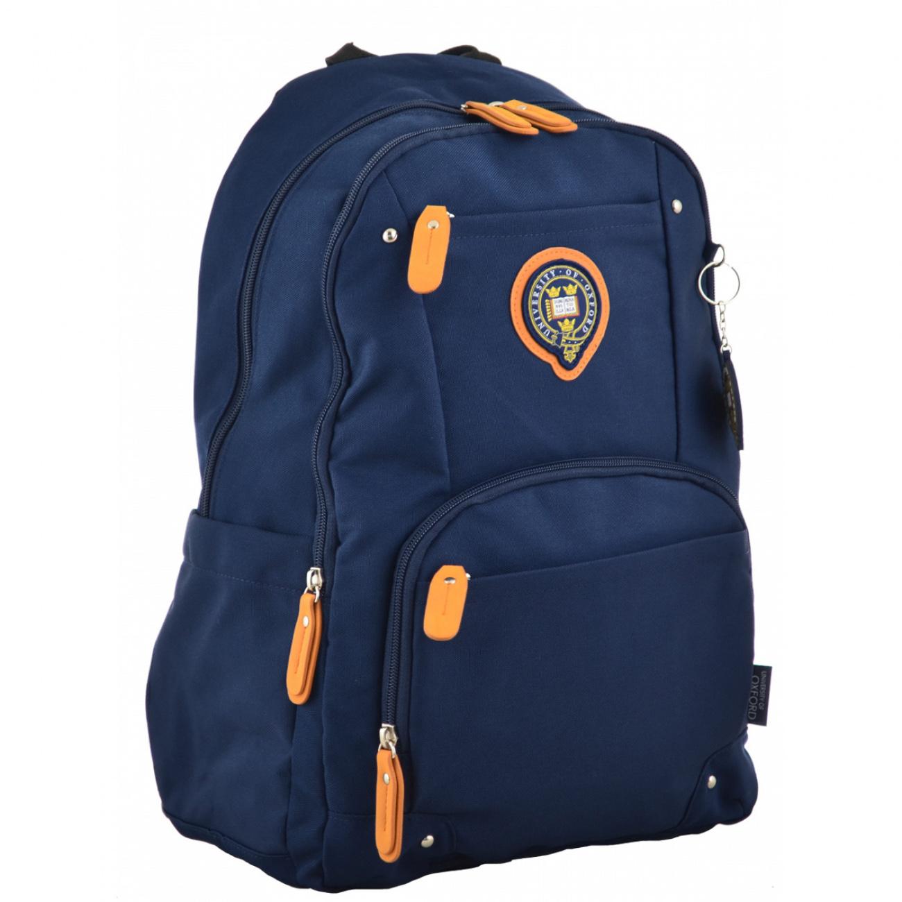 Рюкзак молодежный OX 347, 45*29.5*14, синий