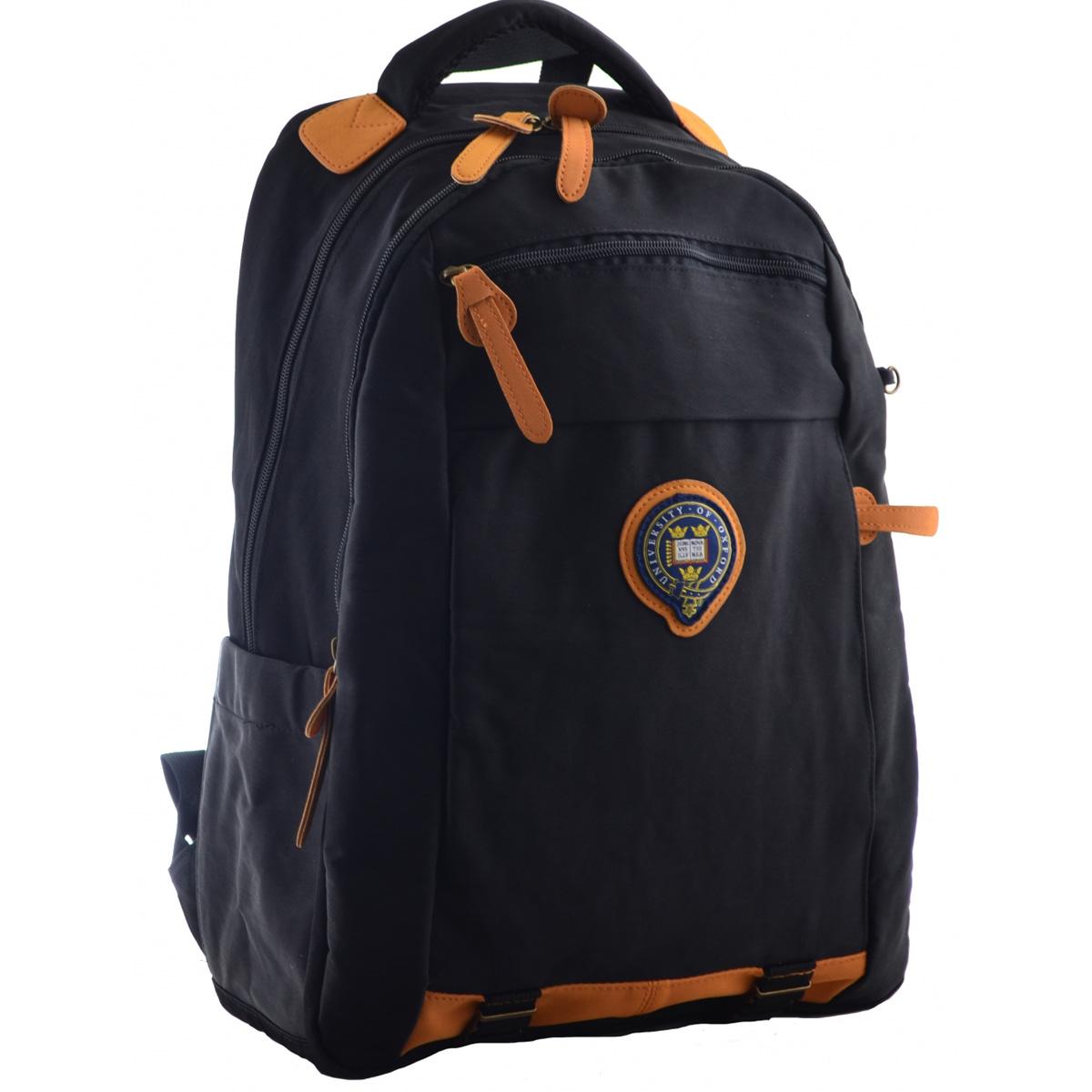 Рюкзак молодежный OX 349, 46*29.5*13, темно-синий