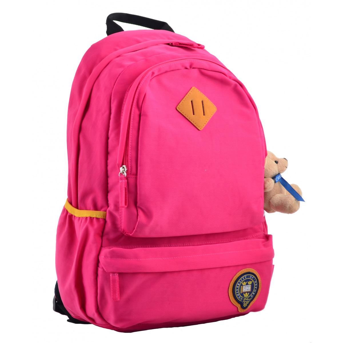 Рюкзак молодежный OX 353, 46*29.5*13.5, розовый