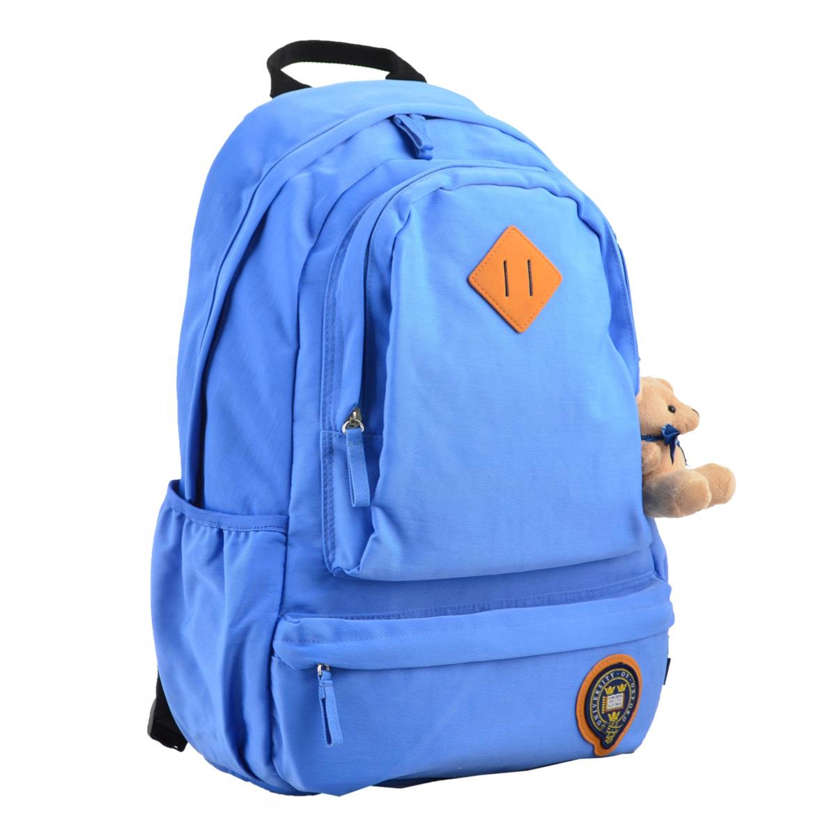 Рюкзак молодежный OX 353, 46*29.5*13.5, голубой