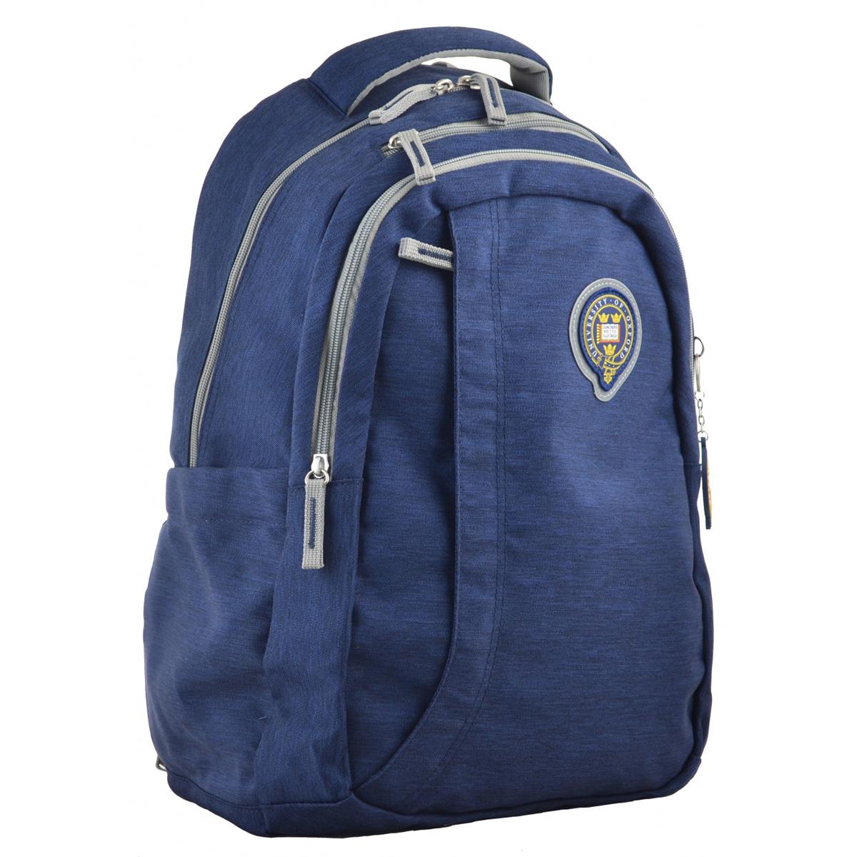 Рюкзак молодежный OX 391, 45*30*14.5, синий