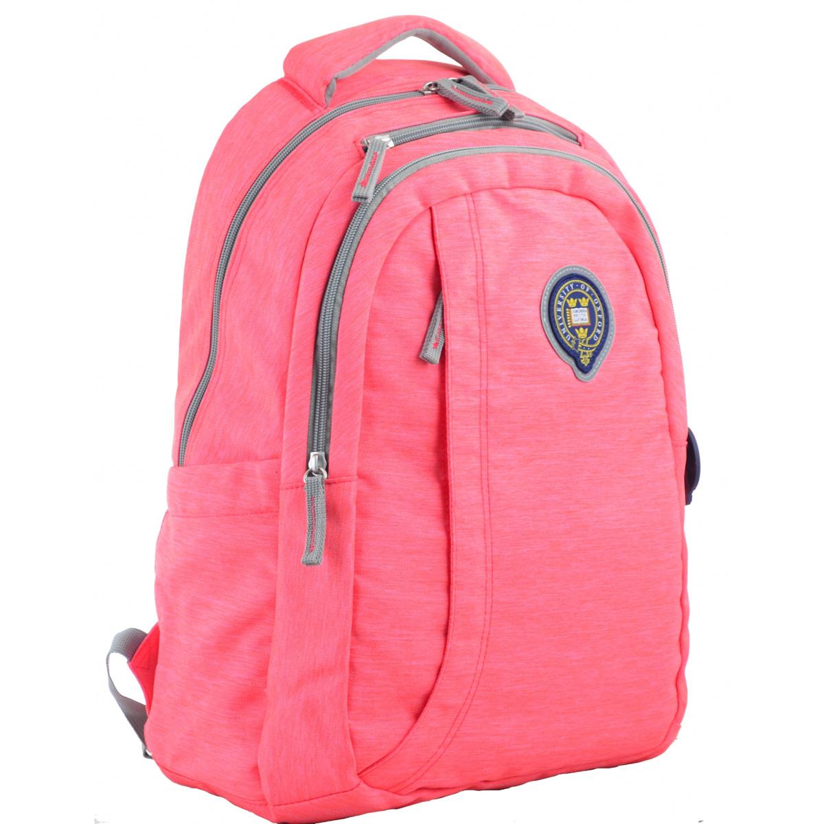 Рюкзак молодежный OX 391, 45*30*14.5, розовый