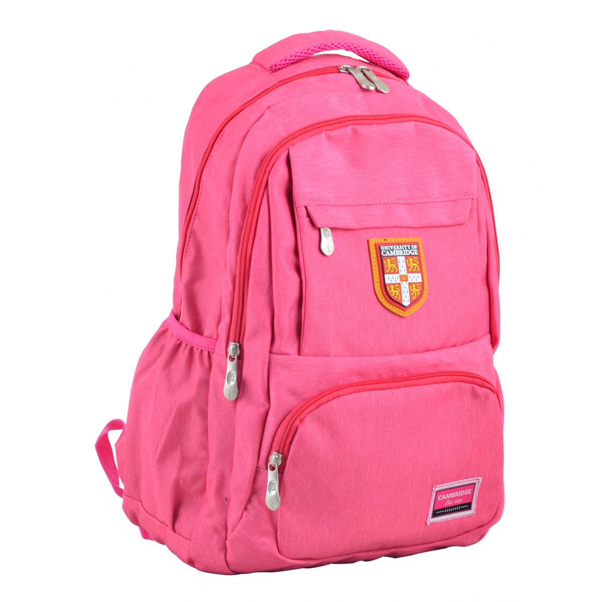 Рюкзак молодежный CA 145, 48х30х15, розовый