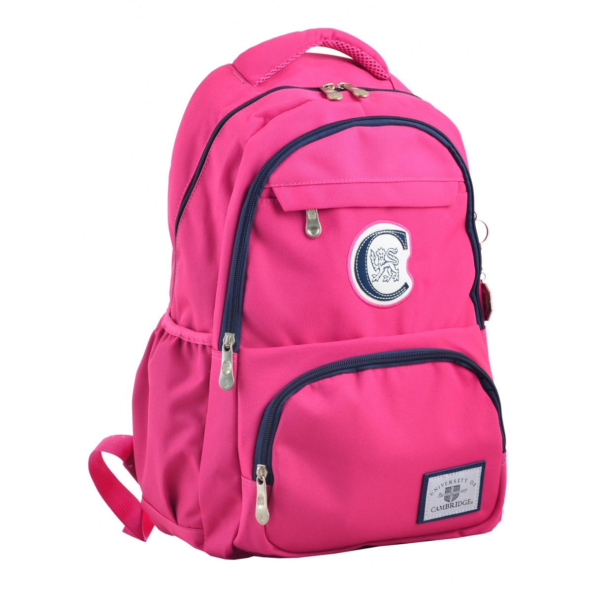 Рюкзак молодежный CA 151, 48х30х15, розовый