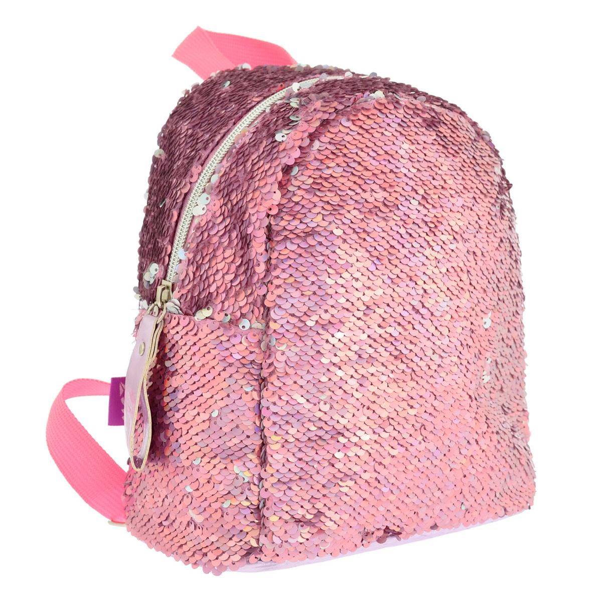 Рюкзак молодежный  с паетками GS-02