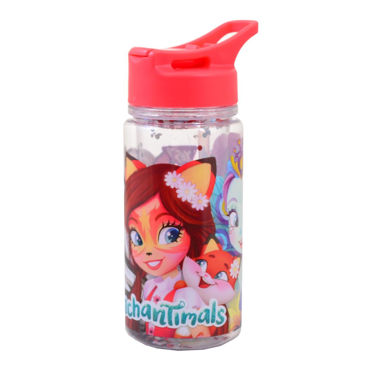 Бутылка для воды YES c блестками