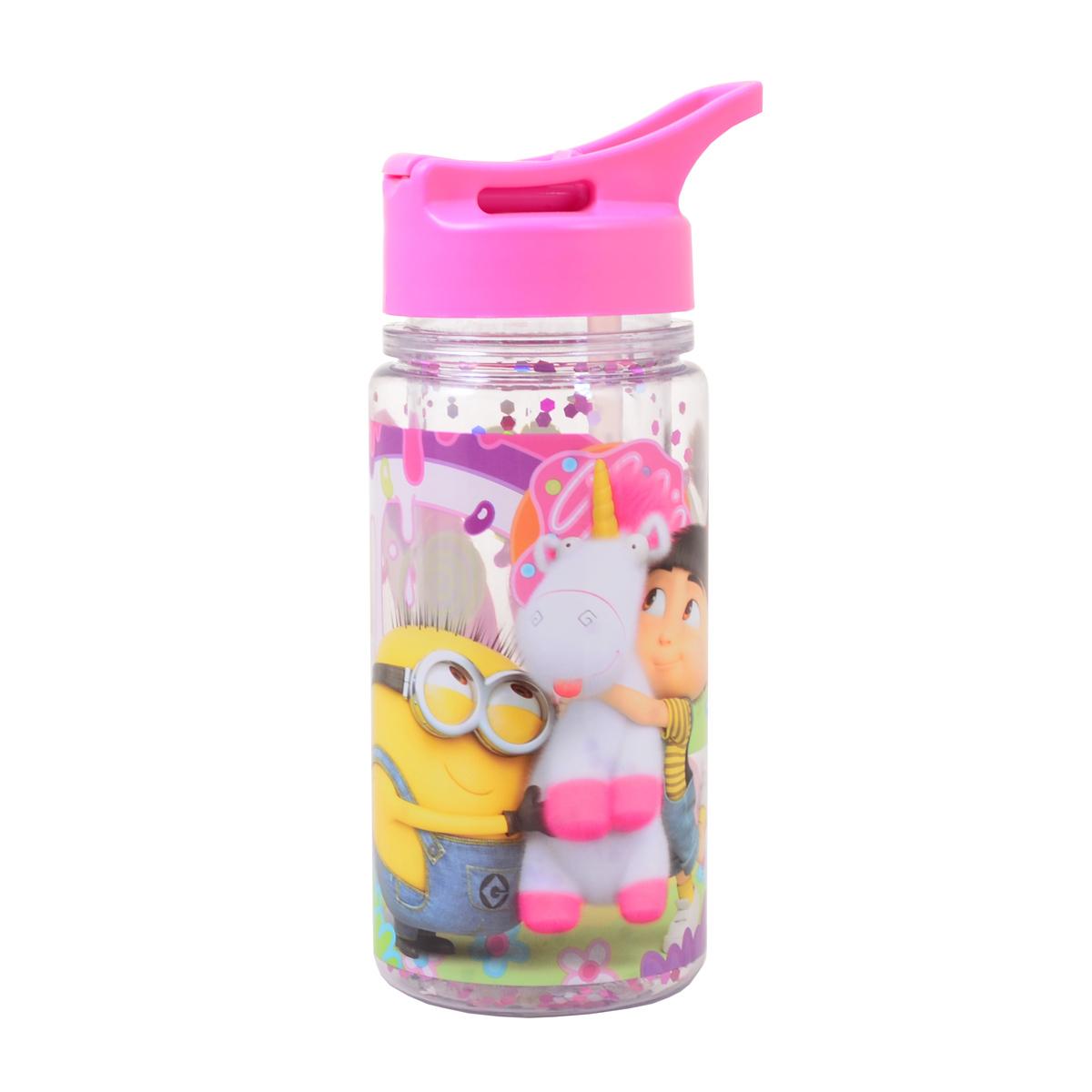 Бутылка для воды YES с блетсками