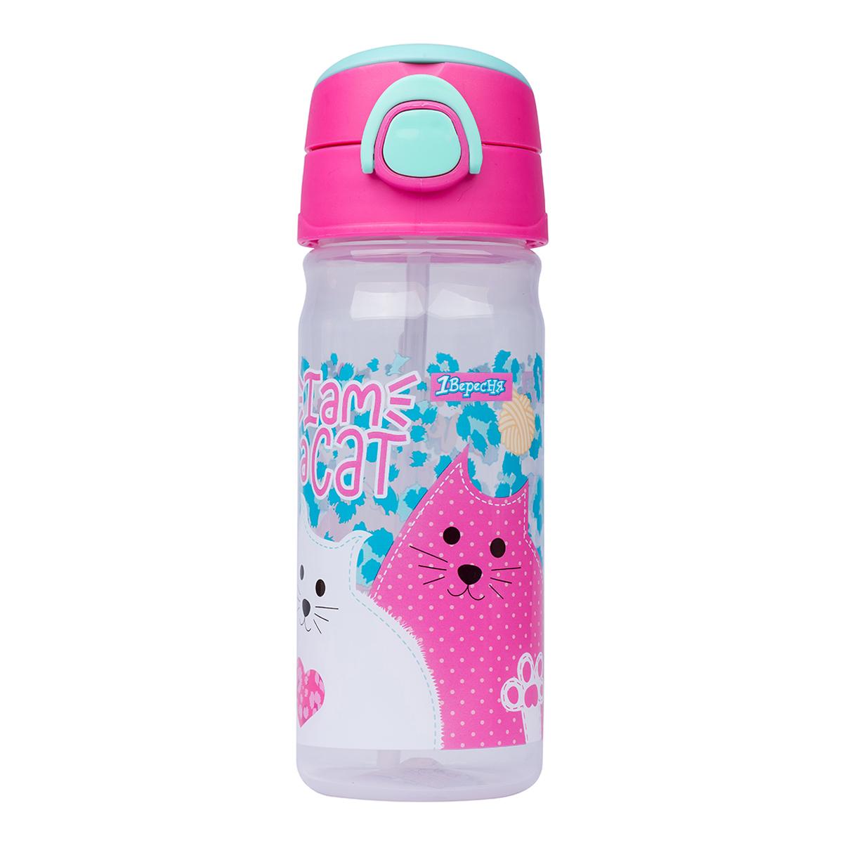 """Бутылка для воды 1Вересня &quotI am a cat"""", 450 мл"""