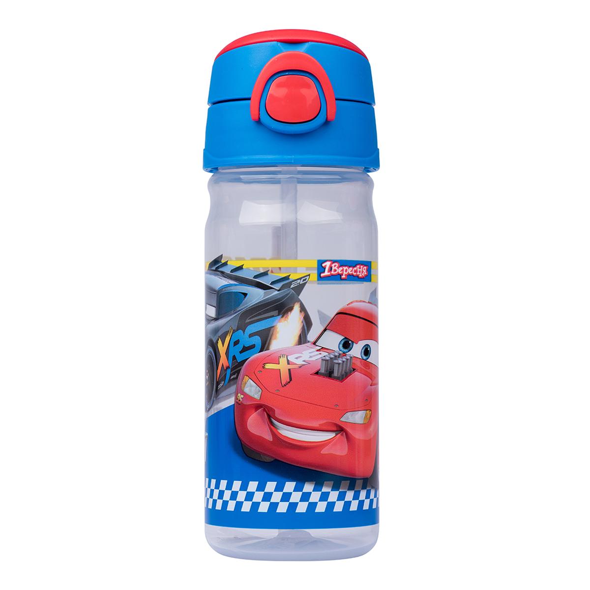 """Бутылка для воды 1Вересня &quotCars"""", 450 мл"""