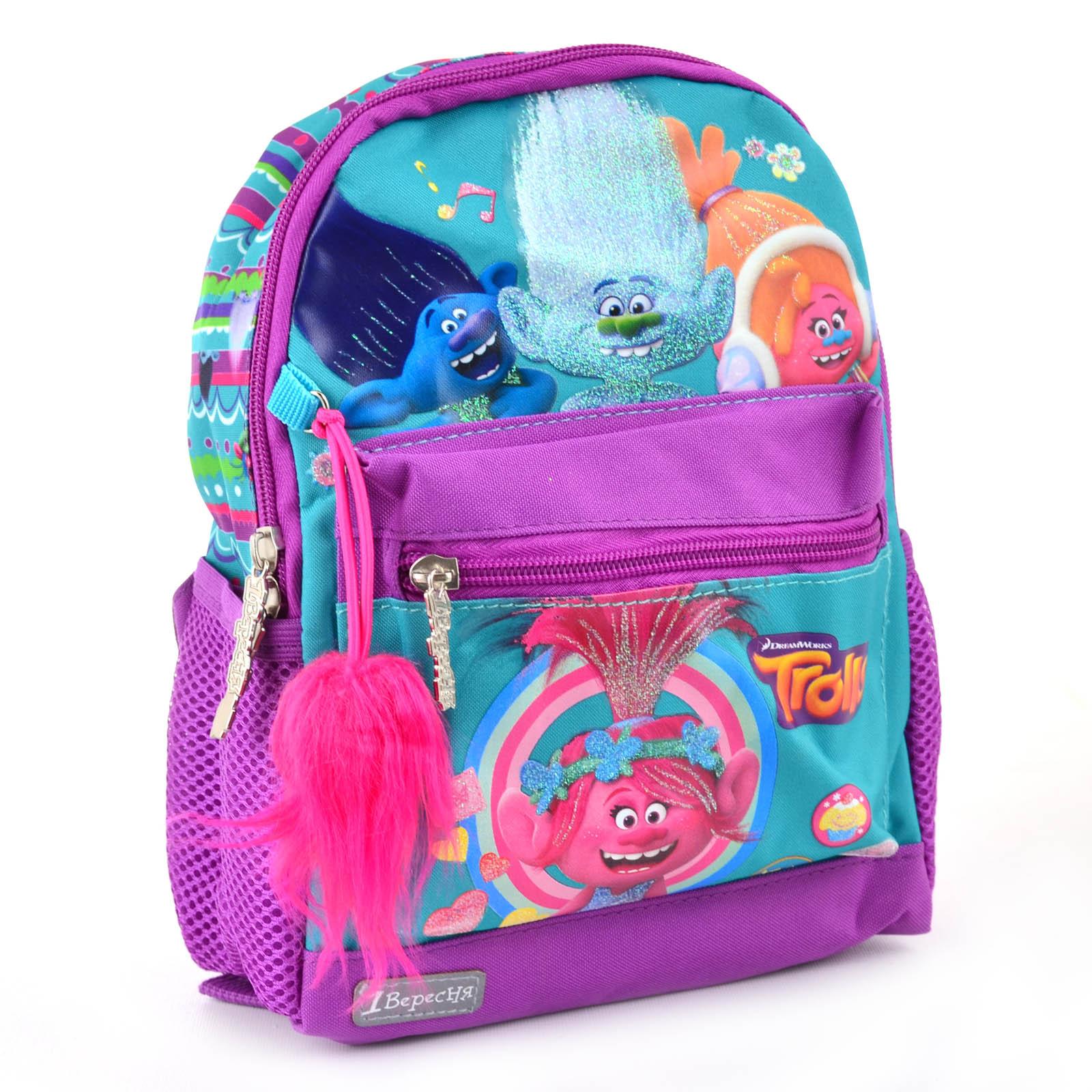 Рюкзак детский K-16 Trolls, 25.5*19.5*6.5