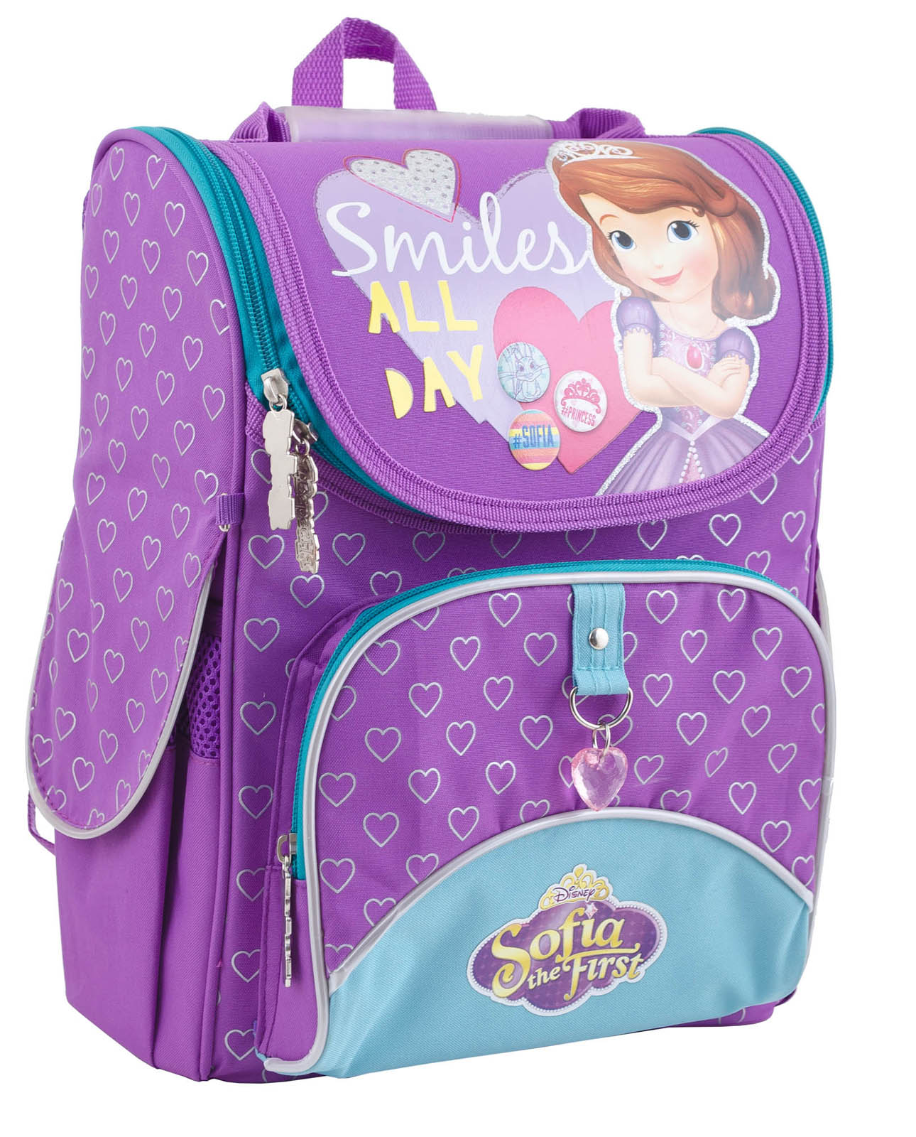 Рюкзак каркасный H-11 Sofia purple, 34*26*14