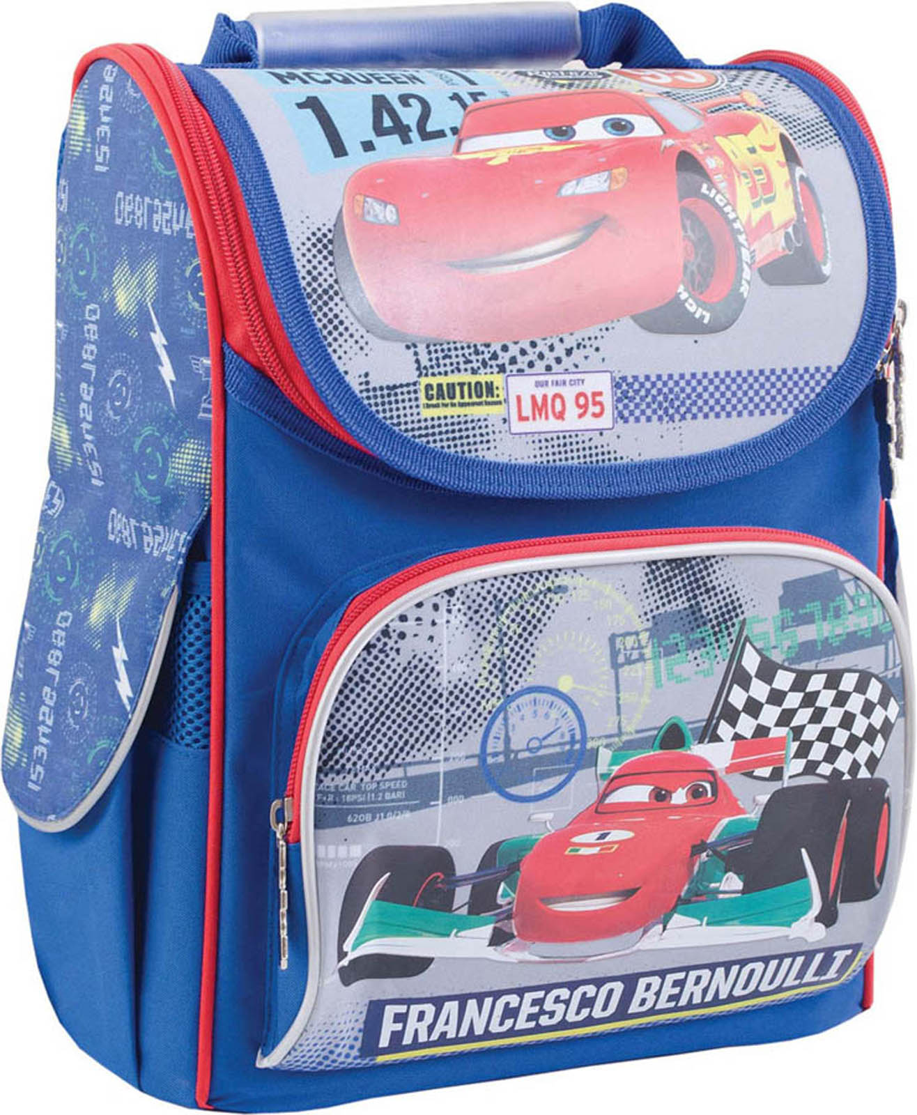 Рюкзак каркасный H-11 Cars, 34*26*14