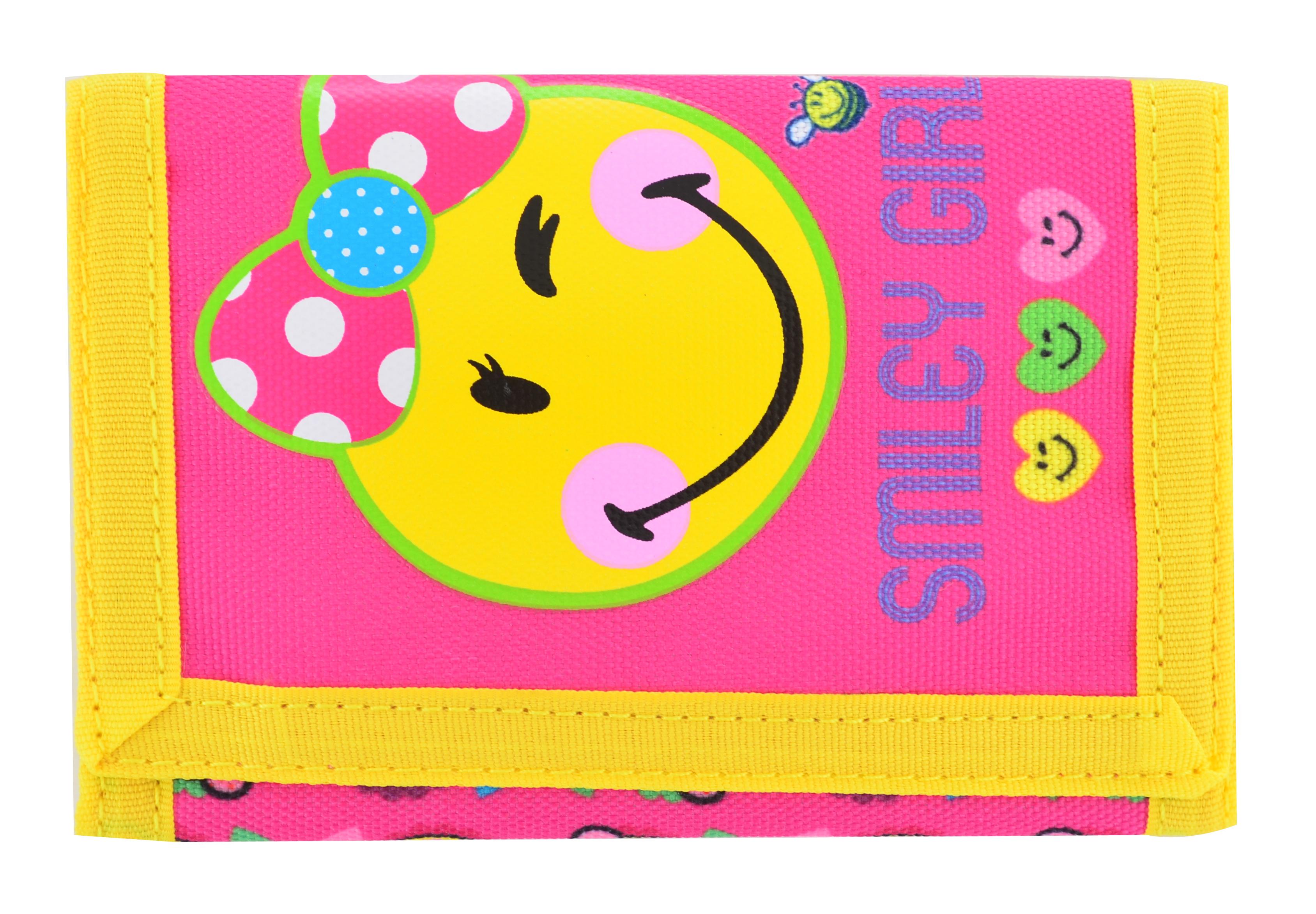 Кошелек Smiley girl, 25*12.5