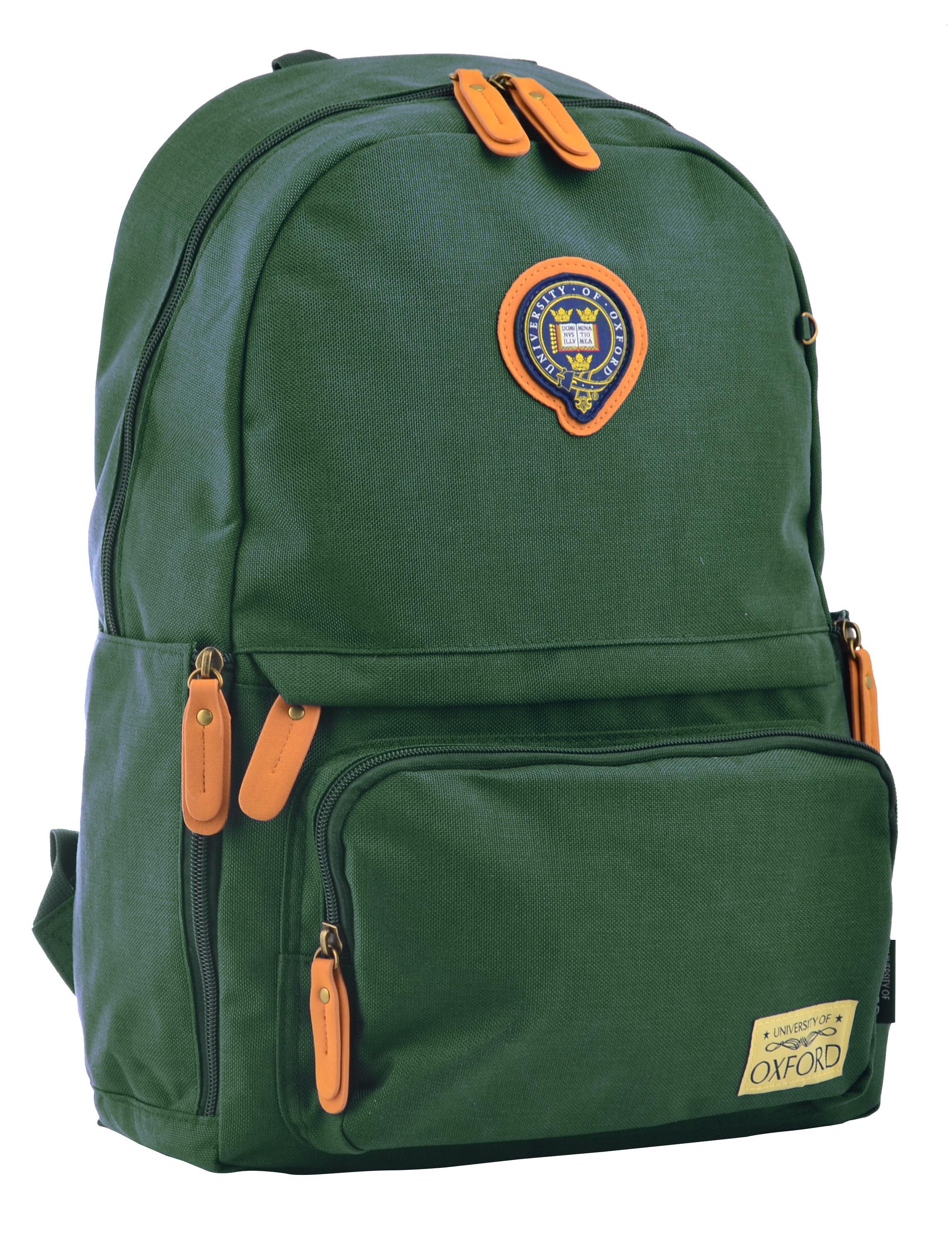 Рюкзак молодежный OX 342, 45*29*14, зеленый