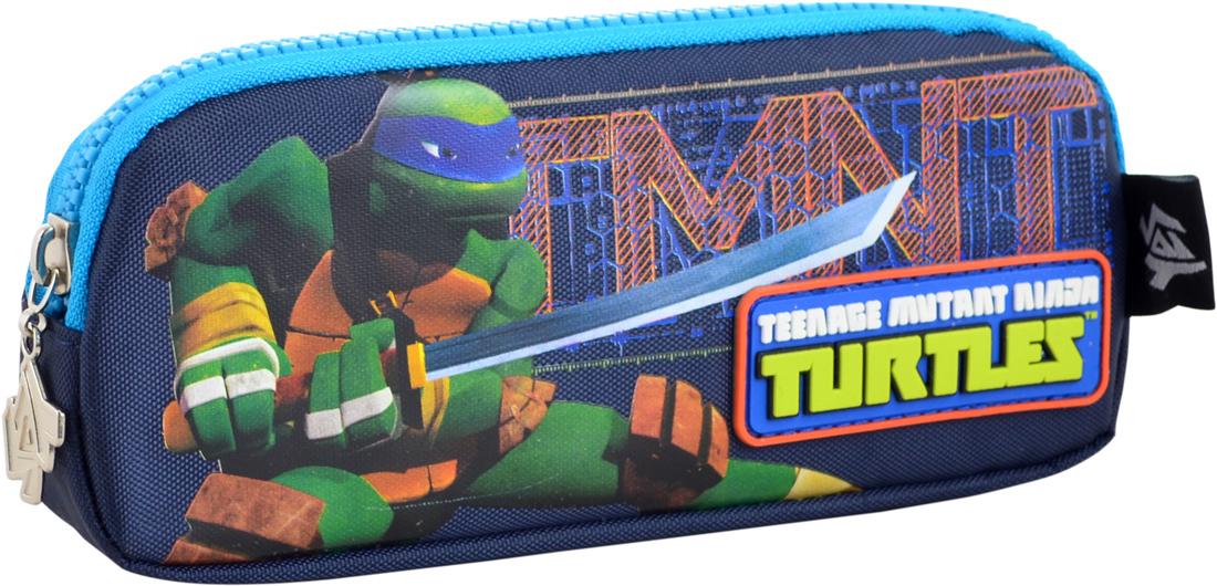 Пенал  мягкий 1 Вересня Turtles, 19*7*3