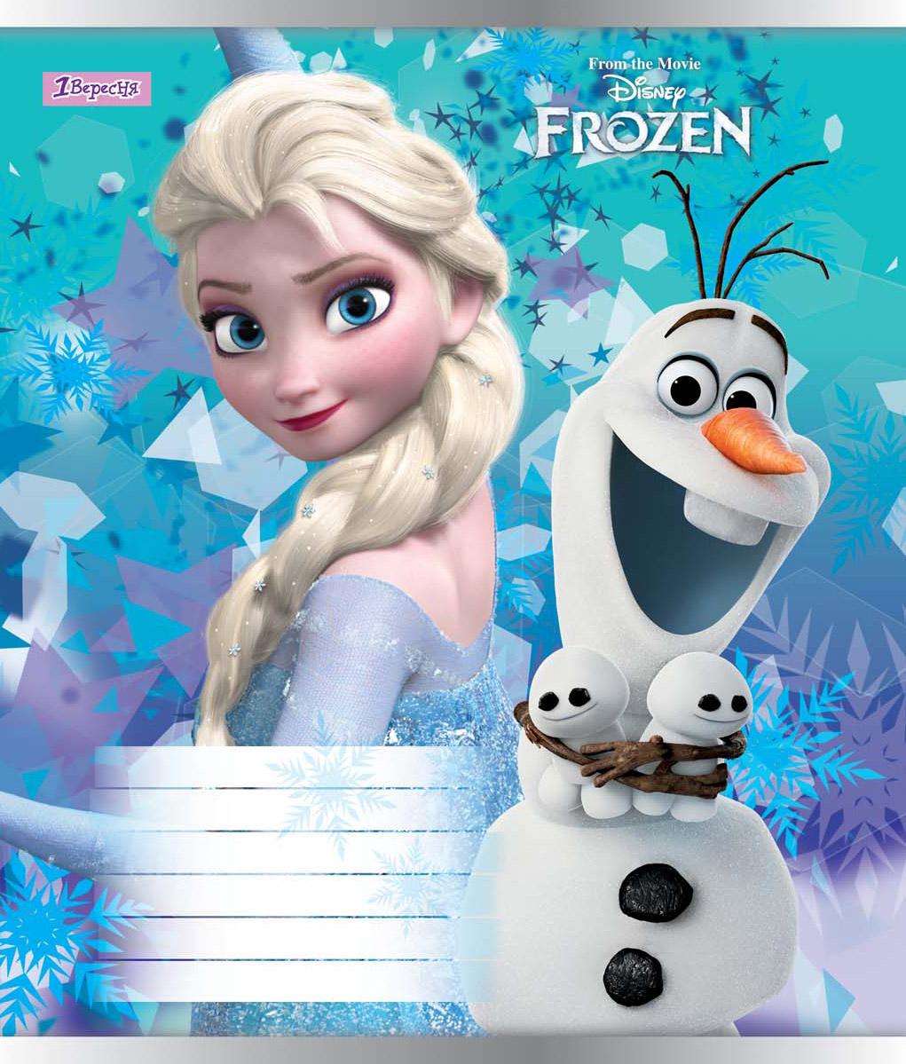 А5/12 кл. 1В Frozen-2018, тетрадь ученич.