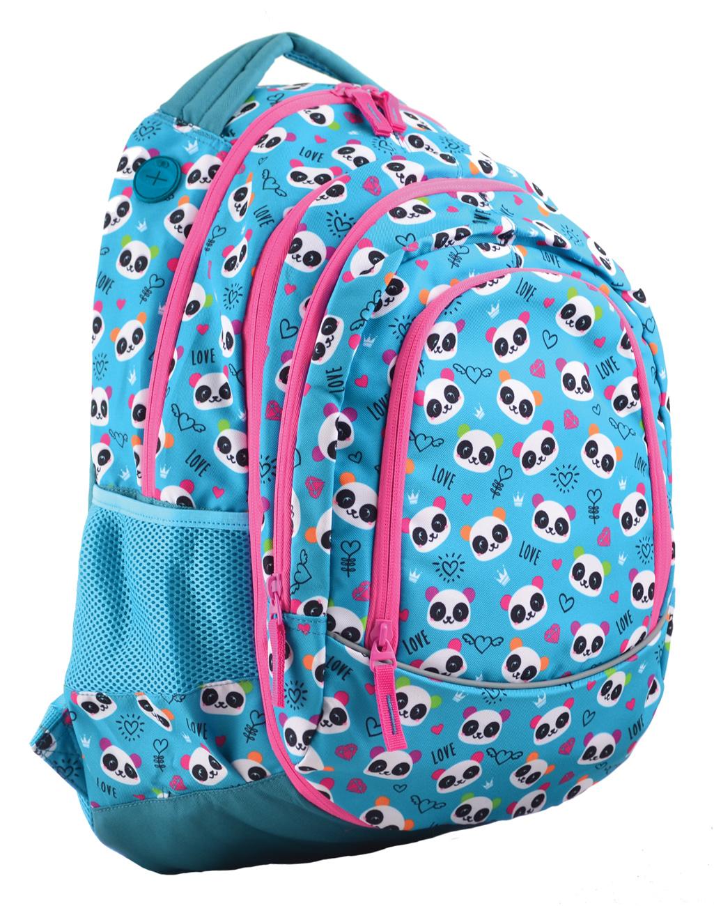 Рюкзак молодежный 2в1 Т-40 Lovely panda, 49*32*15.5